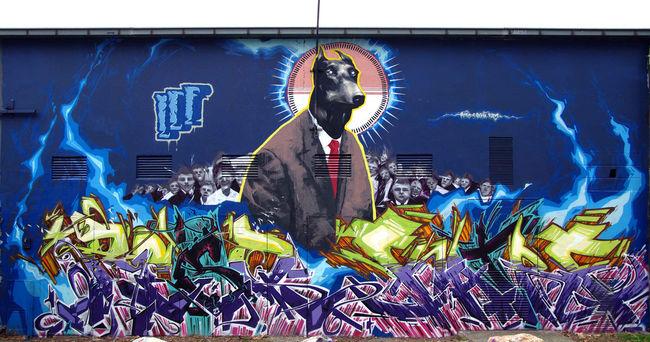 Big Walls By Rezo, Katre, Superpaume - Toulouse (France)