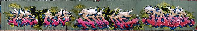 Fresques Par Katre, Metro - Paris (France)