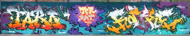 Fresques Par Katre, Taro - Ivry-sur-Seine (France)