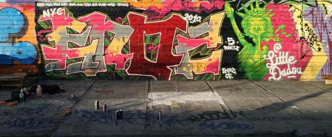 Big Walls By Enoz, Little Dadou - New York City (NY)