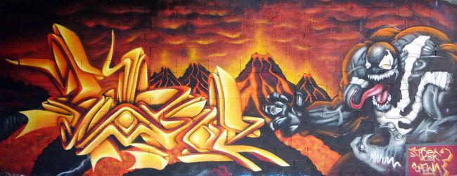 Fresques Par Wask - Besancon (France)