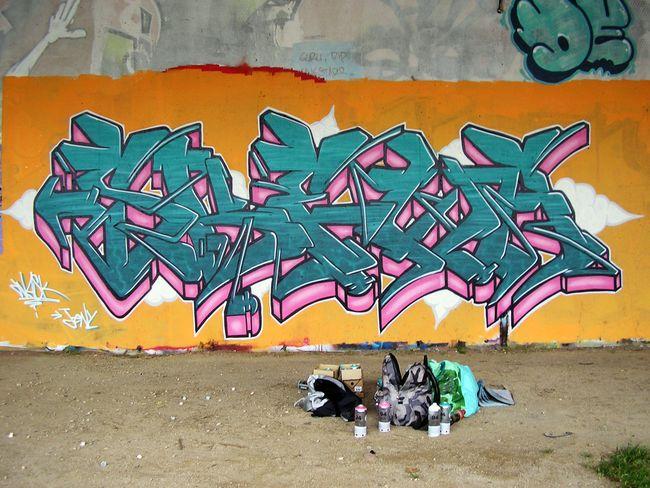 Piece Par Wask - Besancon (France)