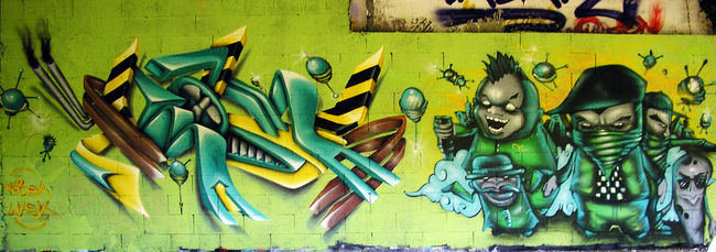 Big Walls By Wask - Besancon (France)