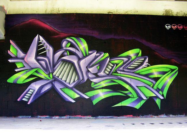 Big Walls By Wask - Besancon (France)