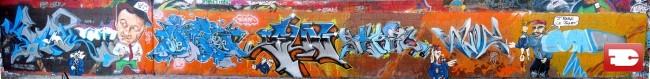 Big Walls By Deux, Geni, Eash, Sun.c, Hunz, Scred Glf, Suoz, Monark, Styk2 - Pantin (France)