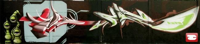 Fresques Par Zion, Fino - Lille (France)