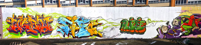 Big Walls By Jerc - Clermont (France)