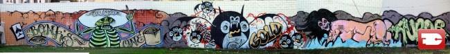 Fresques Par Augor, Bonkers - Los Angeles (CA)
