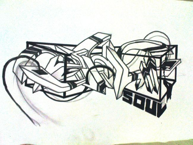 Sketch Par Soulfourteen - Medan (Indonesie)