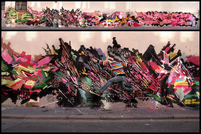 Fresques Par 1984 - Paris (France)