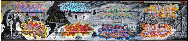 Fresques Par Meres, Part1, Prisco, Ree 2, Klown Mtr, Geme (siem Mtr), Nic 1 - New York City (NY)