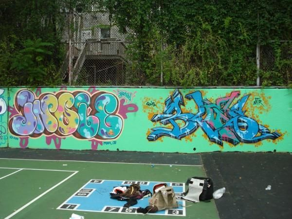 Fresques Par Indie 184, Bles - Bronx (ID)
