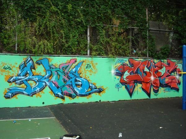Fresques Par Cope2, Bles - Bronx (ID)