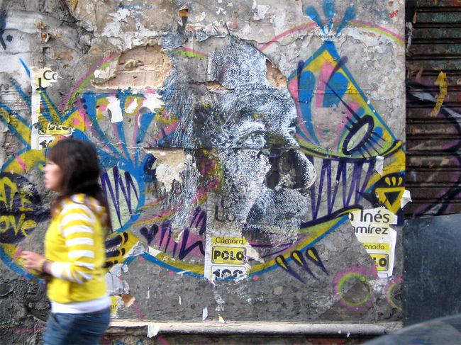 Street Art By Vhils - Bogota (Colombia)