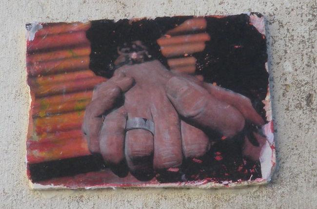 Street Art Par Abestos - Dublin (Irlande)