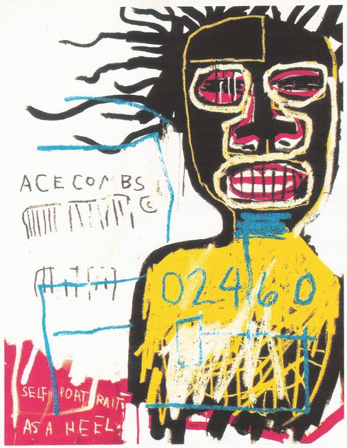 Street Art Par Jean Michel Basquiat - New York City (NY)