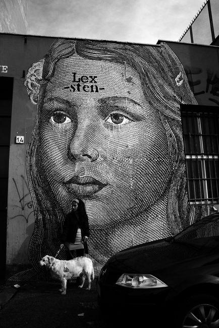 Street Art Par Sten, Lex - Rome (Italie)