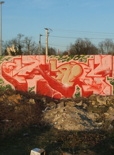 Piece By Mr Mad - Chalons-sur-Marne (France)