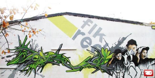 Big Walls By Defco, Ideka, Toux - Mantes-la-Jolie (France)