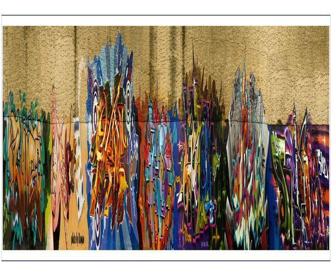 Fresques Par Ces, Revok, Bio, Nicer, Bg183, Dmote, Yes - New York City (NY)