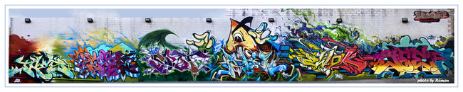 Fresques Par Cope2, Ewok, Jaes, Askew, Spot - New York City (NY)