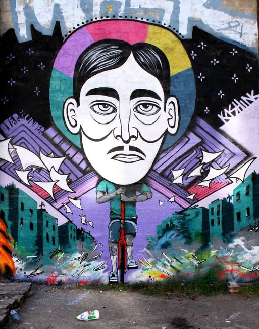 Characters By Kashink, Over Under - Paris (France)