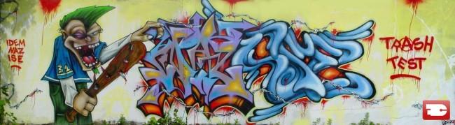 Big Walls By Idem, Ise, Naz - Rouen (France)