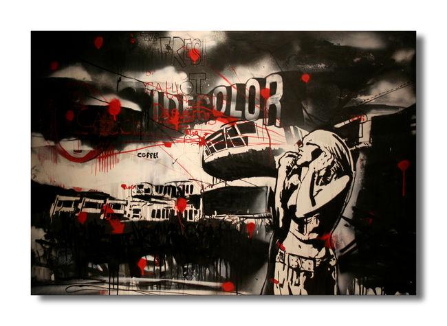 Piece Par Cecile Dm Artworks - Chalon-sur-Saone (France)