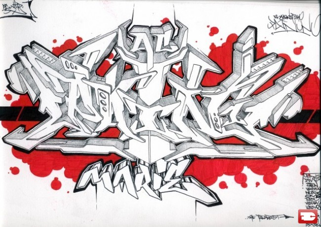 Sketch Par Pain - Nantes (France)