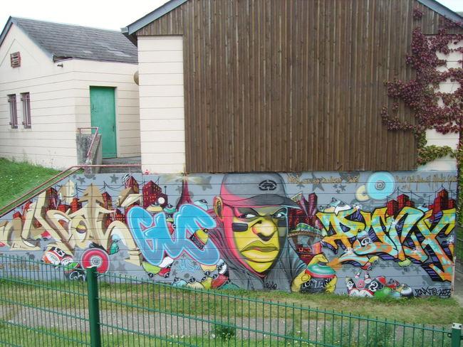 Big Walls By Shime - Vernouillet (France)