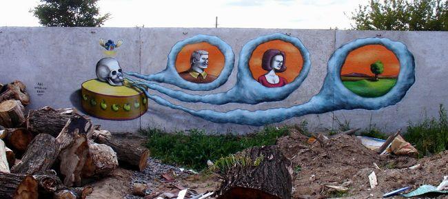 Street Art Par Aec - Kiev (Ukraine)