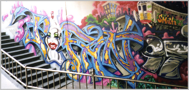 Big Walls By Erni Vales - Seoul (Korea, Republic Of)