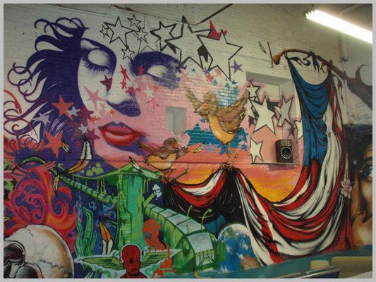Fresques Par Erni Vales - Winnipeg (Canada)