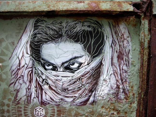 Street Art Par C215 - Istamboul (Turquie)
