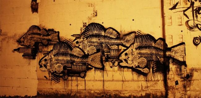Street Art Par Orticanoodles - Milan (Italie)