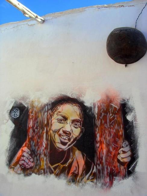 Street Art Par C215 - Tiznit (Maroc)