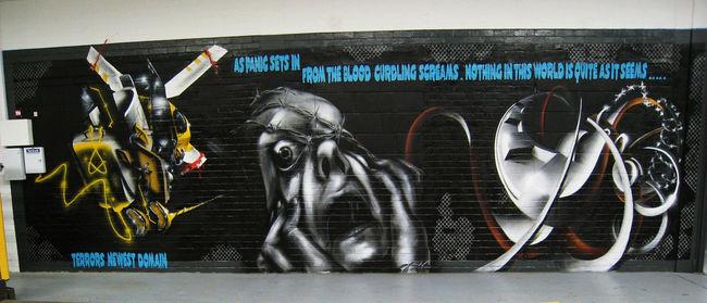 Big Walls By Ebee, Trans1 - London (United Kingdom)