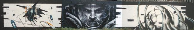 Big Walls By Ebee / Trans1 /eska - London (United Kingdom)