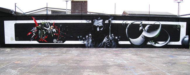 Big Walls By Ebee / Trans1 / Eska - London (United Kingdom)