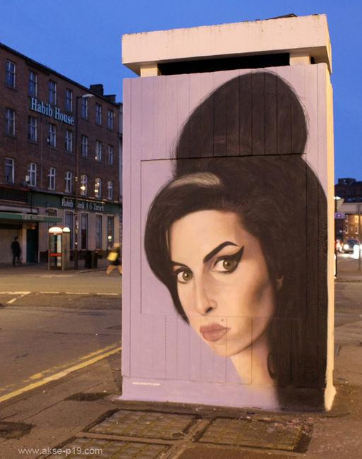 Personnages Par Akse - Manchester (Royaume Uni)