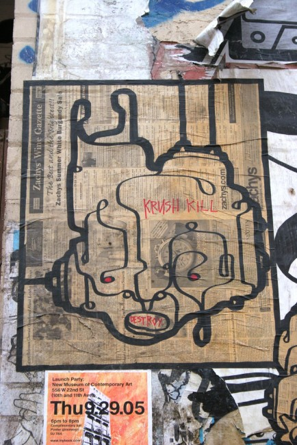 Street Art Par Sync - New York City (NY)