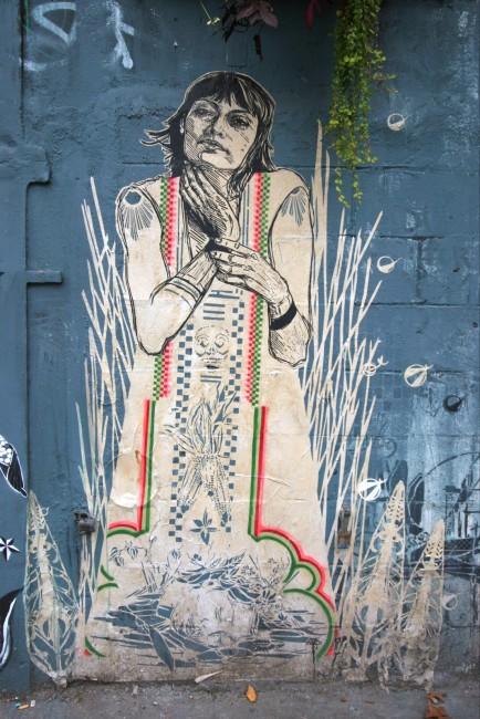 Street Art By Swoon - New York City (NY)