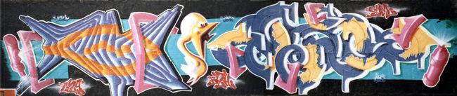Big Walls By Malik, Jone , Wazo - Brest (France)