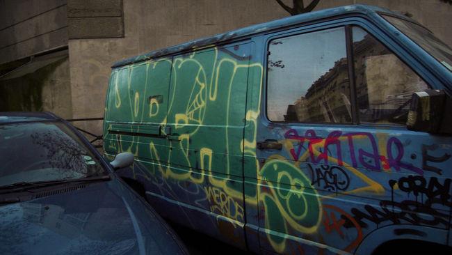 Throw Ups Par Horfe - Paris (France)