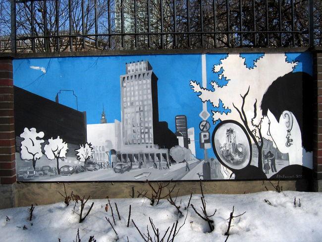 Fresques Par Pola - Varsovie (Pologne)