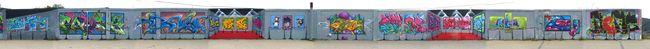Fresques Par Gamer, Bros, Slick, Kems, Sion, Obwan, Kolo - Bordeaux (France)