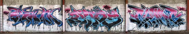 Piece Par Bros, Obwan, Gams - Bordeaux (France)