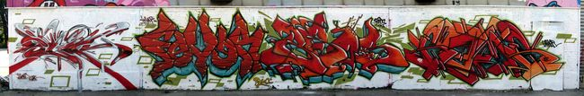 Fresques Par Bros, Fever, Slick, Gams - Toulouse (France)