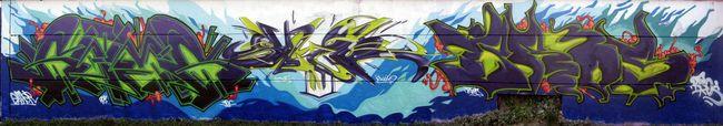Fresques Par Bros, Slick, Gams - Toulouse (France)