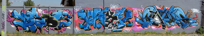 Piece Par Bros, Waxe, Gams - Bor-et-Bar (France)